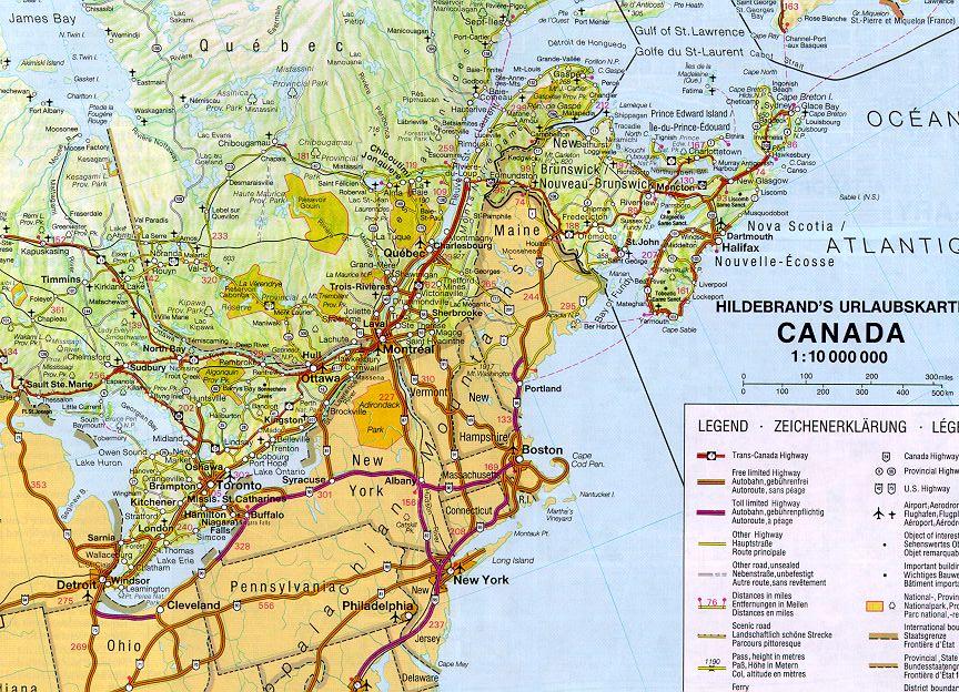Reisebericht Ost Kanada